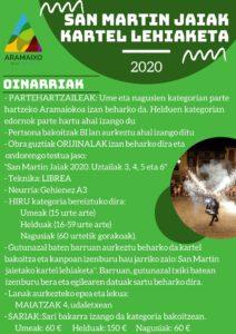 2020-San Martin jaiak Kartel lehiaketa (2)