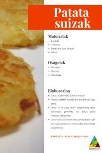 Patata suizak