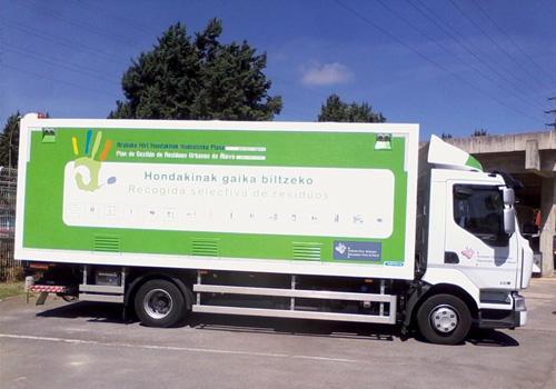 Perfil camión
