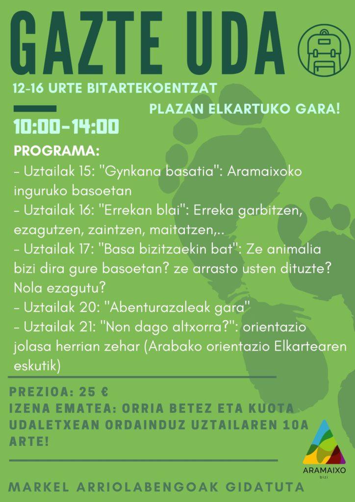 GAZTE UDALEKUAK-2020